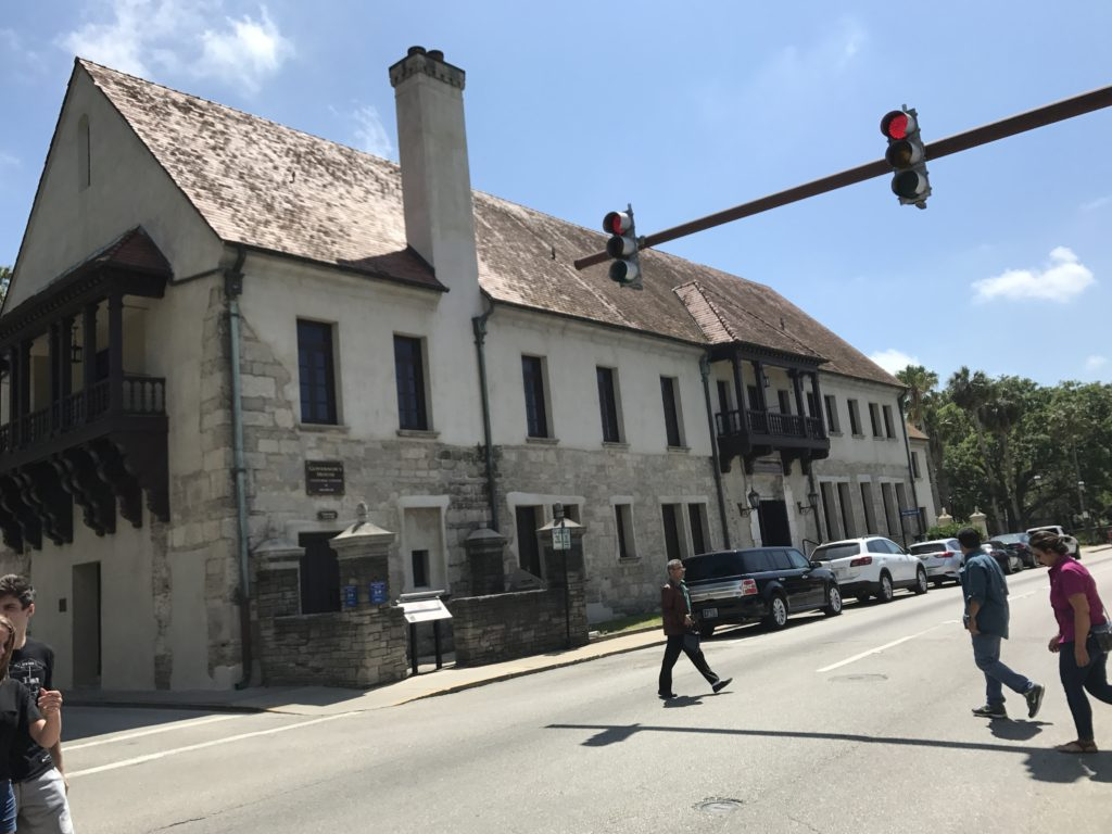 St Augustine Cultural Center and governor house