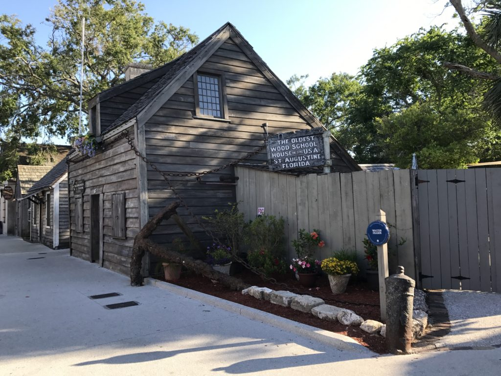 St Augustine Wooden School House