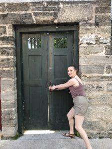 St Augustine Old Door