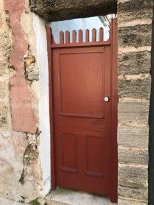 St Augustine Old Door 3