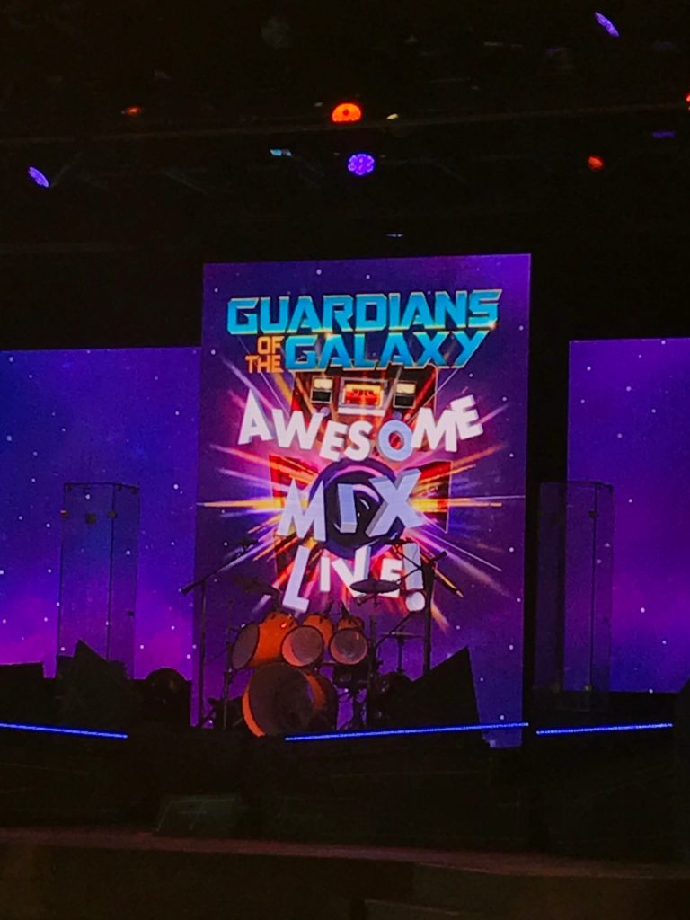 Guardians of the Galaxy Awesome Mix Live
