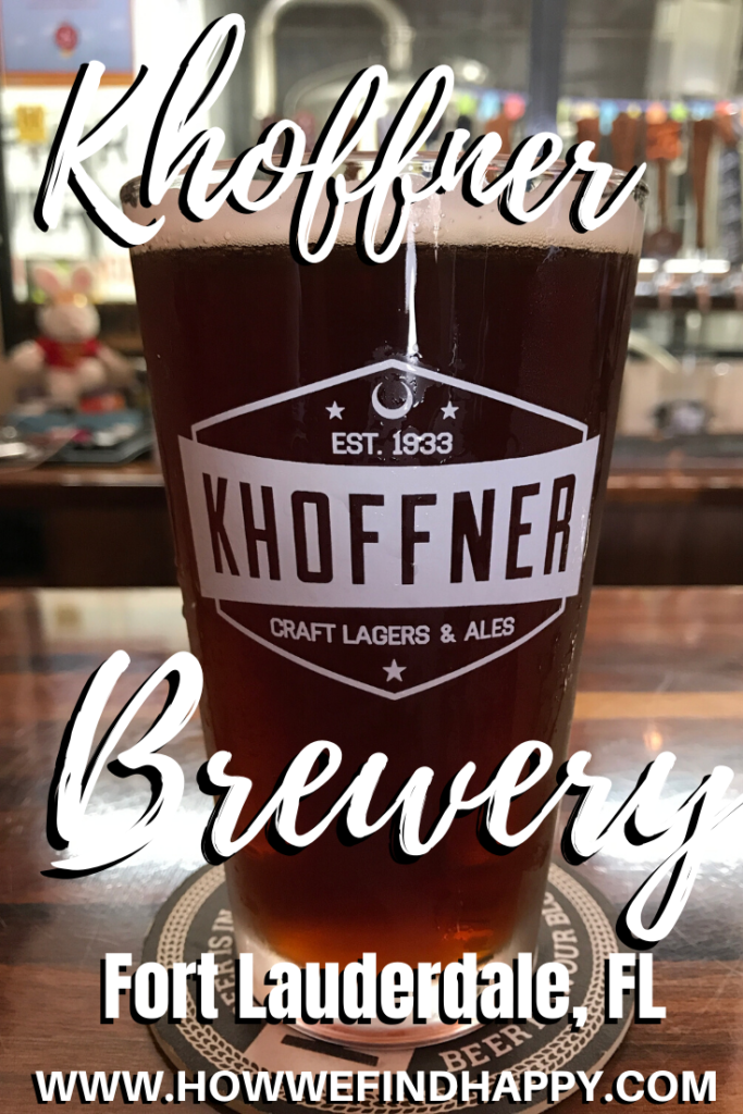 Pinterest Graphic for Khoffner Brewery review