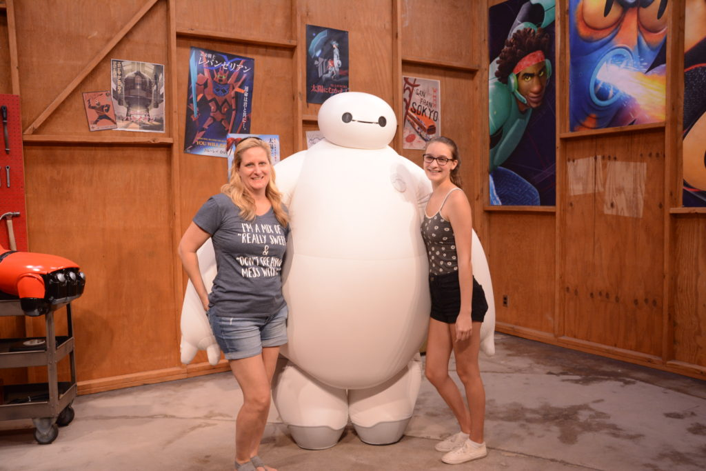 Meet Baymax at Epcot