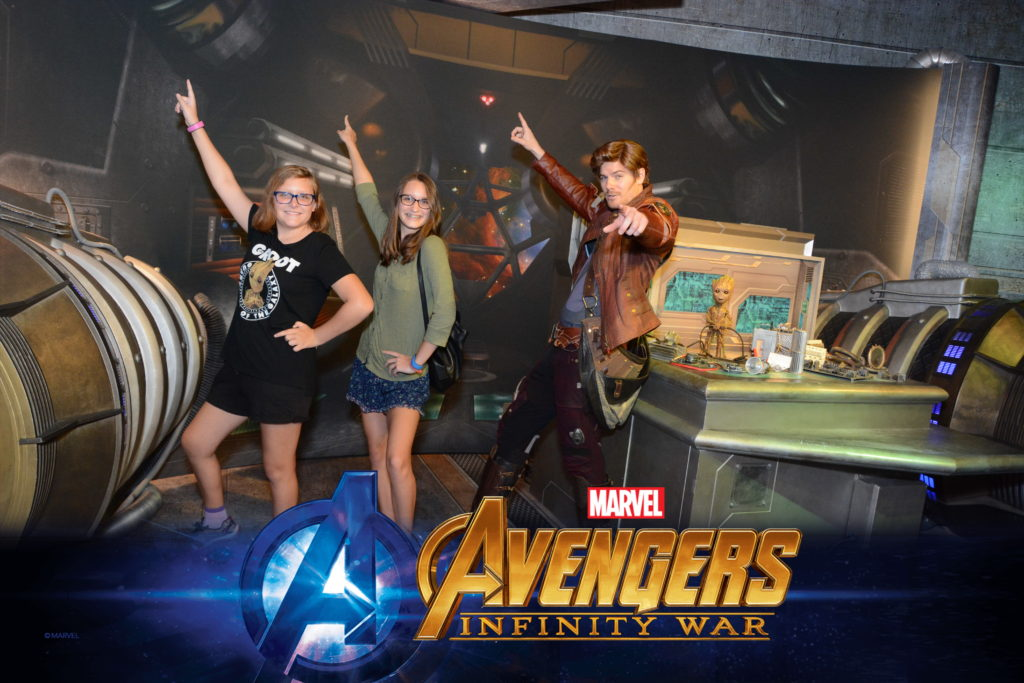 Hollywood Studios Star Lord Guardians of the Galaxy