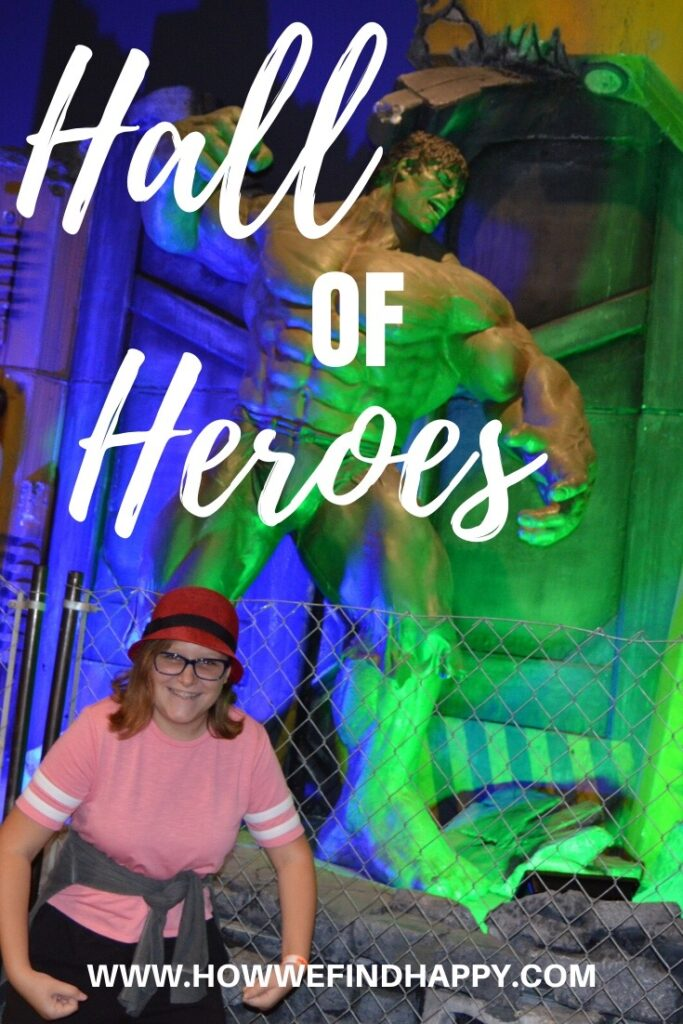 Pinterest graphic for Hall of Heroes Exhibit