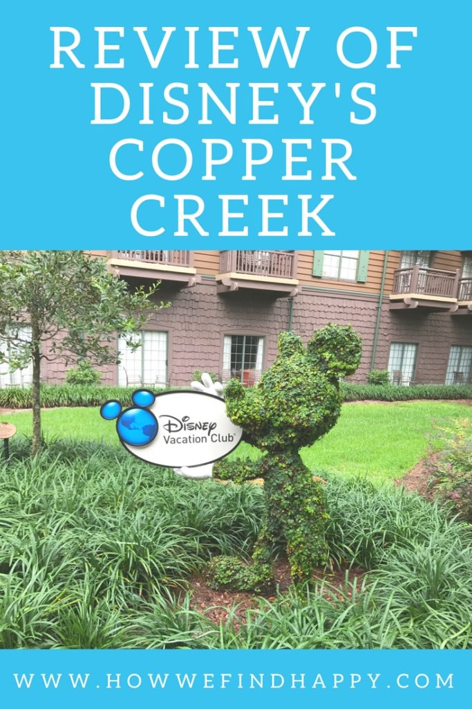 Disney Vacation Club Mickey Topiary at Wilderness Lodge and Copper Creek Villas review and tour