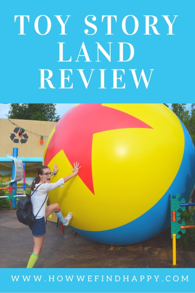 Toy Story Land Review