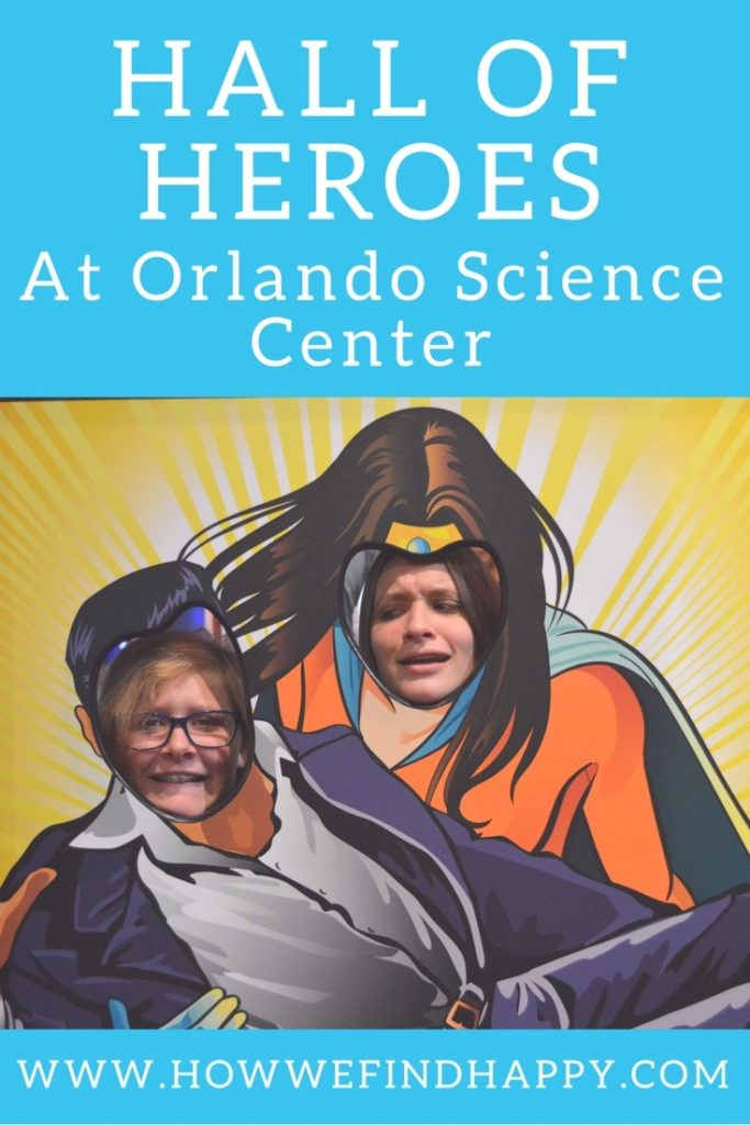 Pinterest graphic for Hall of Heroes Science/History Exhibit