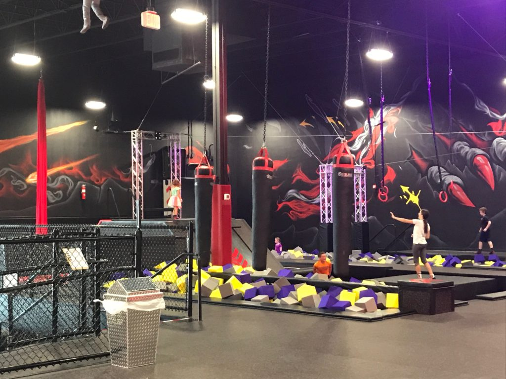Defy Orlando review of rings and foam pits