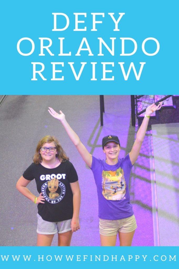 Defy Orlando teens having fun