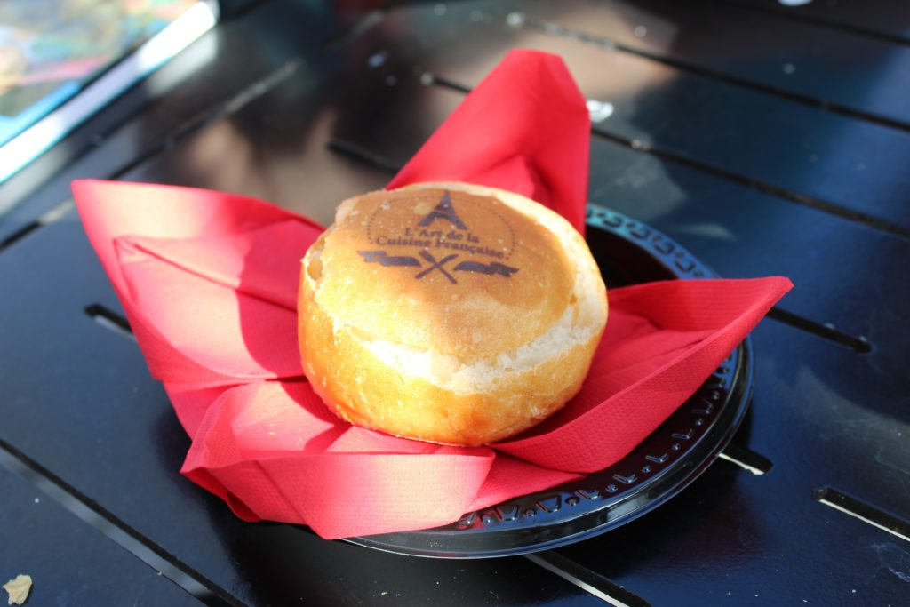 Cheese bread bowl from Epcot festival of the arts in France