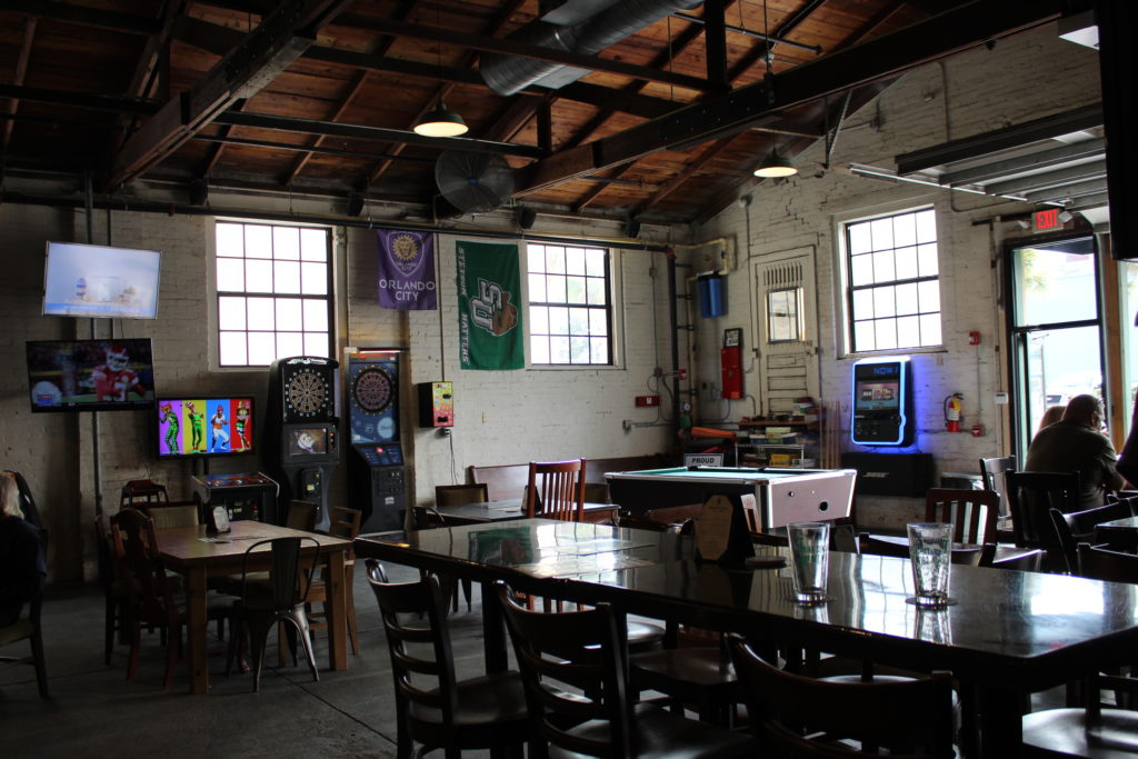 Inside view of Persimmon Hollow Brewing Co