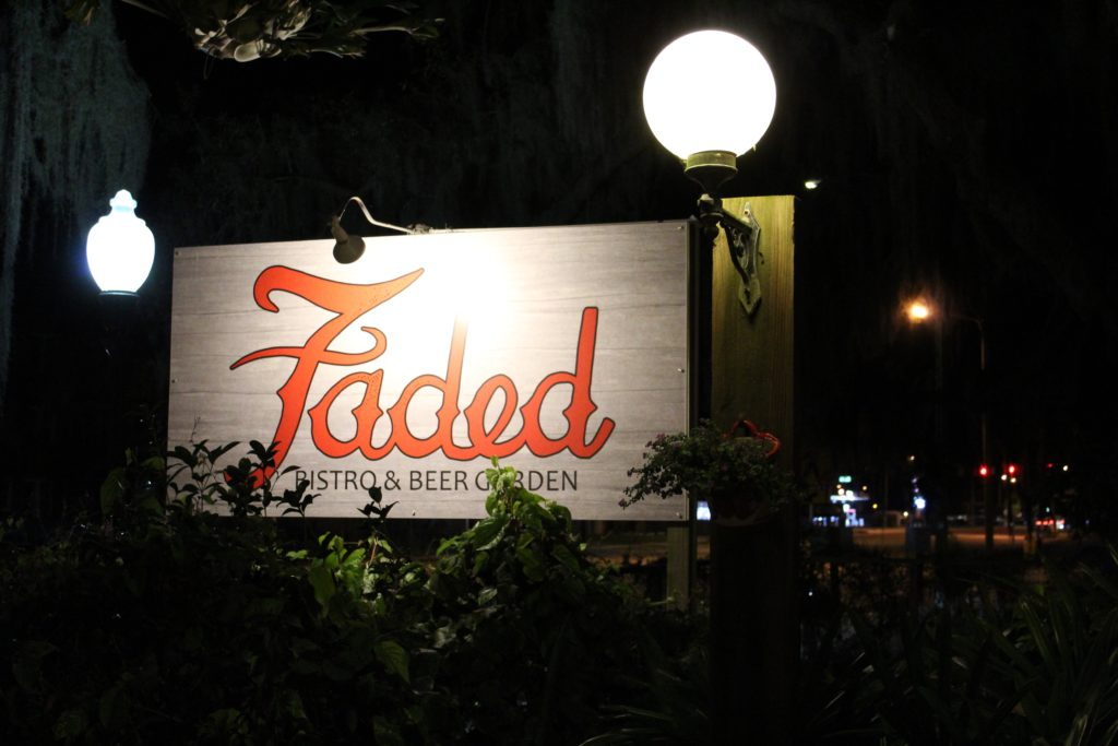 Faded Bistro & Beer Garden in Sebring, FL