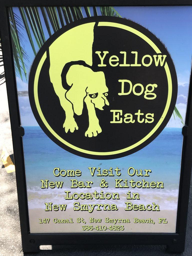 Yellow Dog Eats sign
