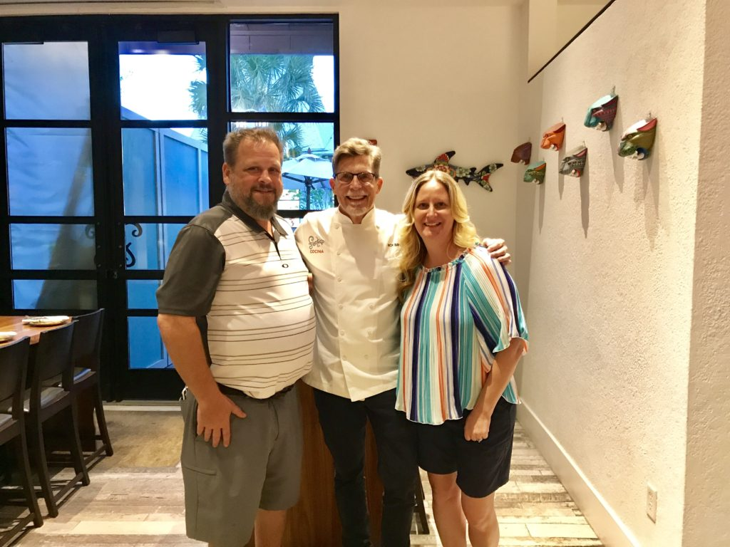 Photo op with Chef Rick Bayless