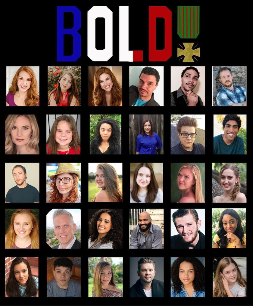 Bold the Musical Premiere cast
