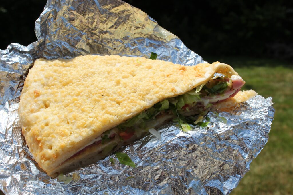 Iconic Dan & Vi's deli slice