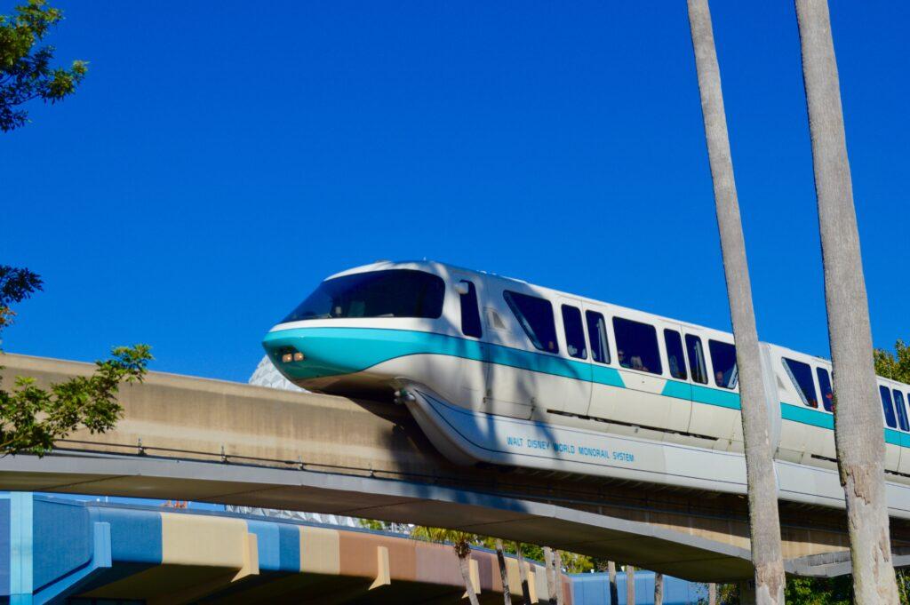 Disney's Monorail for Holiday Hotel  Hopping at Disney's Bay Lake