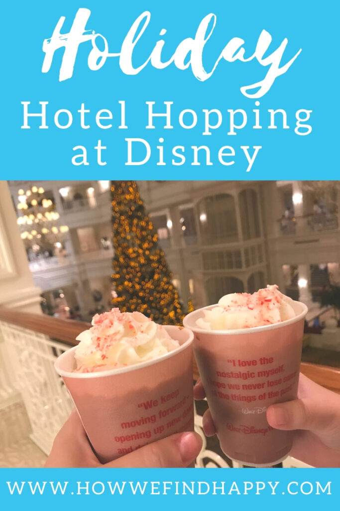 Pin image for Holiday Hotel Hopping at Disney's Bay Lake