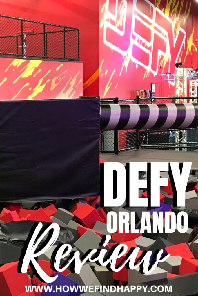 Defy Orlando Spinner with foam pit