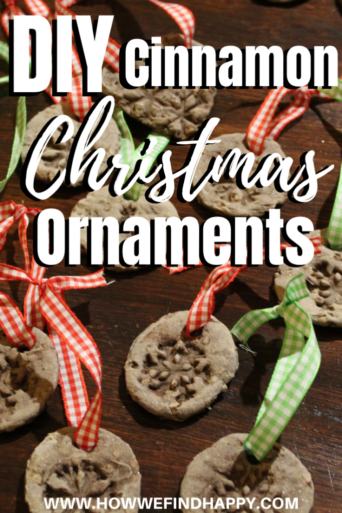 Super simple DIY Christmas ornaments