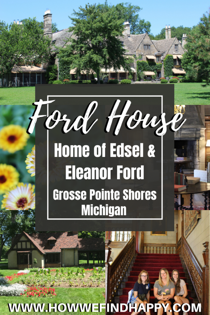 Pinterest image for Ford House, home of Edsel Ford