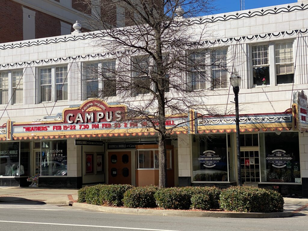Campus Theatre in Milledgeville