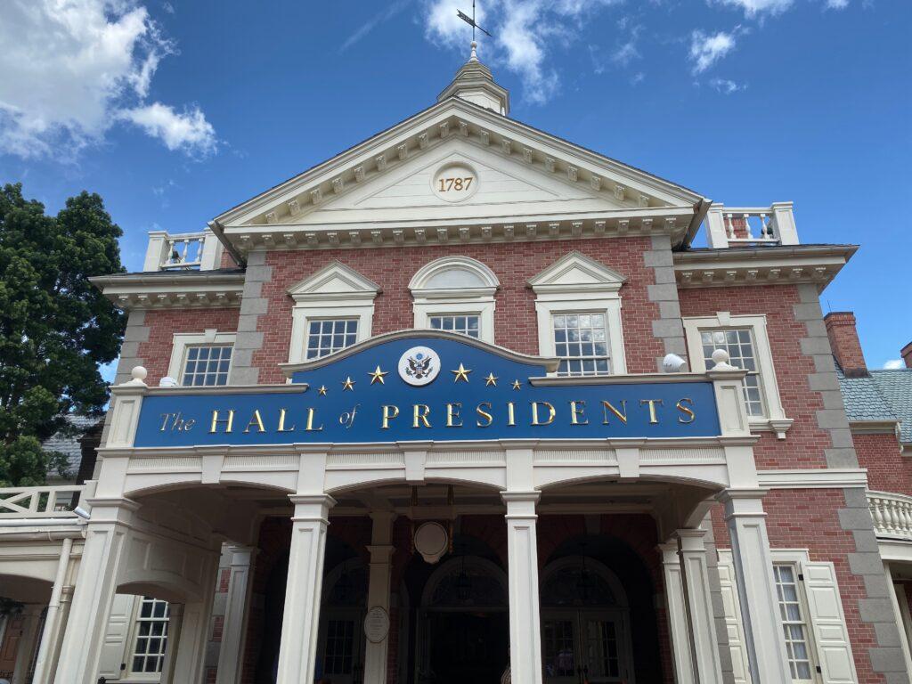 Magic Kingdom Original Attraction Hall of Presidents