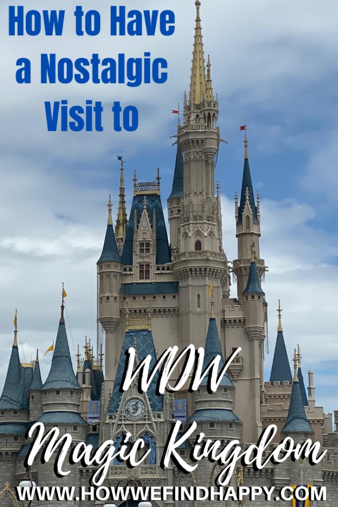 Disney Nostalgic Visit Pinterest image