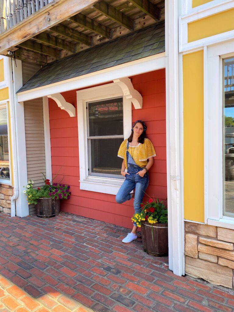 Teen girl in Old Harbor Village