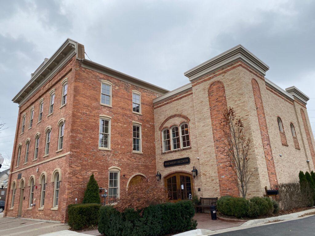 Brewery Becker building