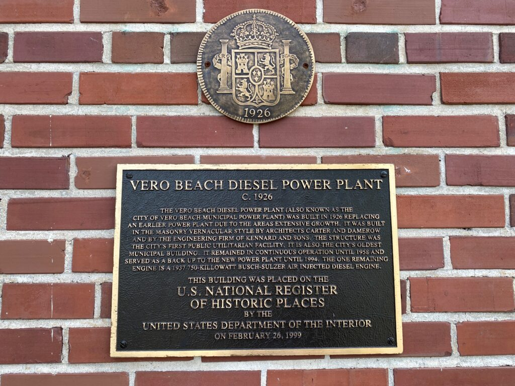 register of historic places plaque