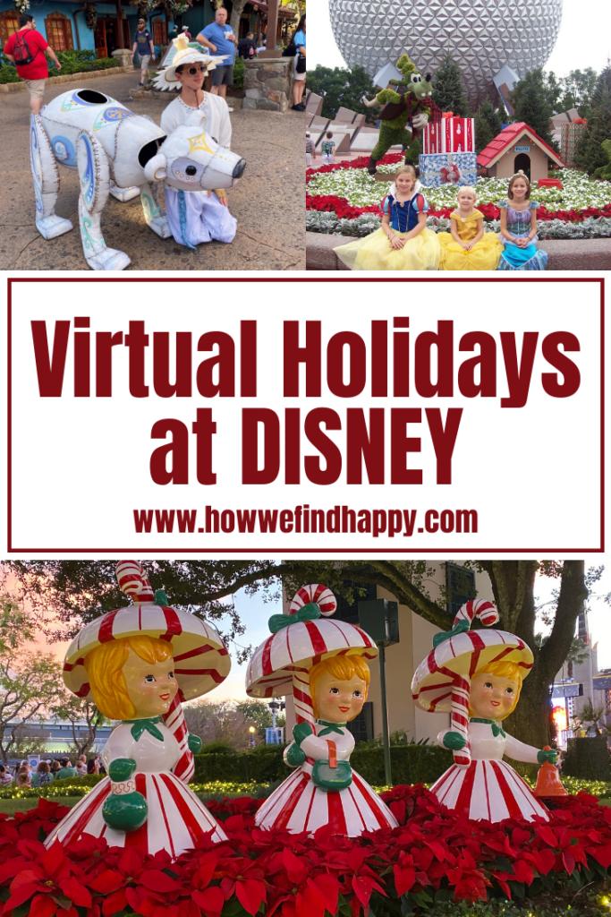 Virtual Holidays at Disney Pinterest