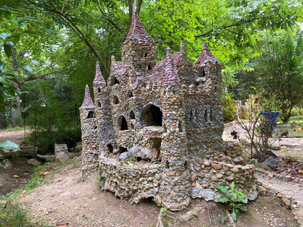 Castle in Rock Garden in northwest Georgia