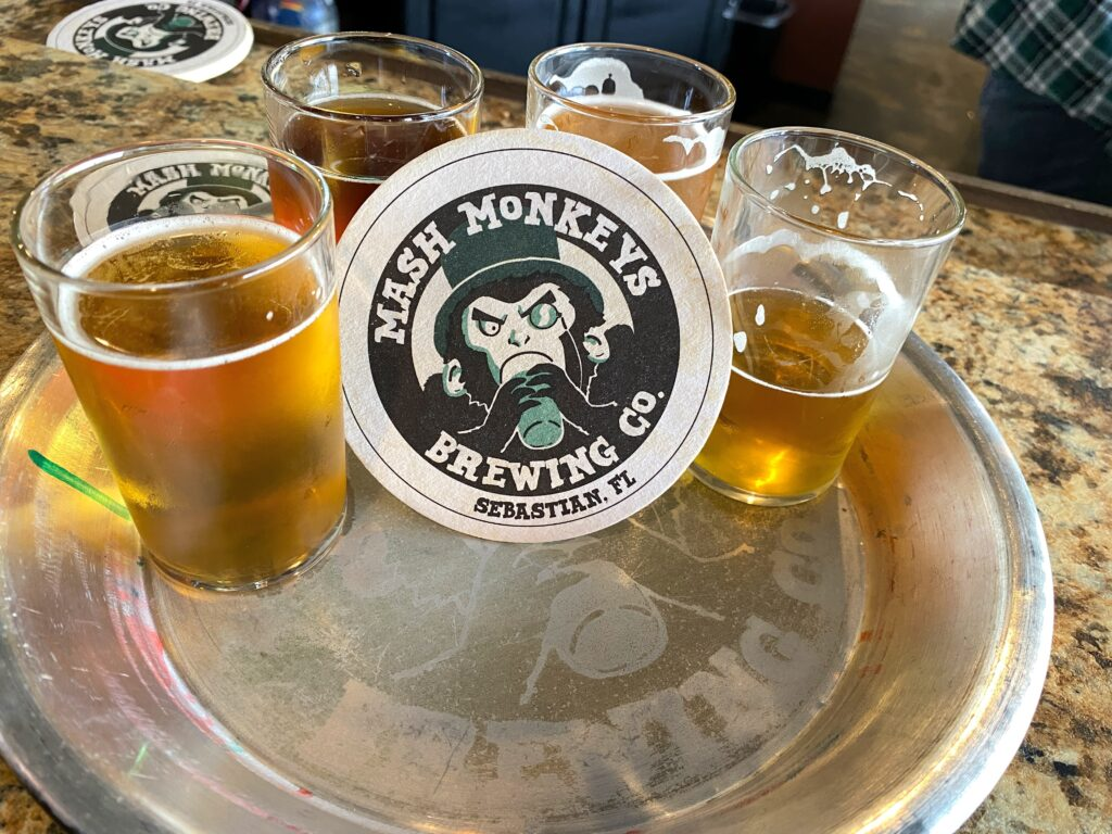 Mash Monkeys Brewing Flight