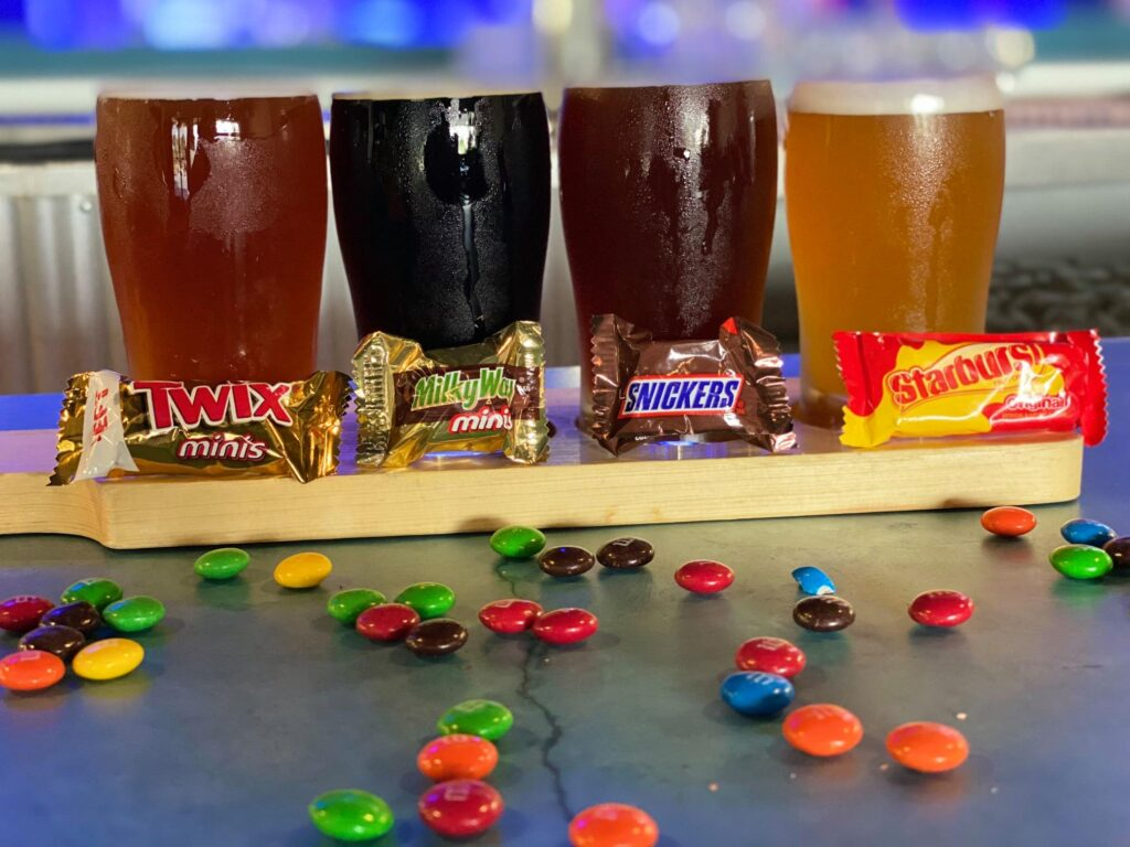 Ocean Republic Brewing Candy Beer Pairing