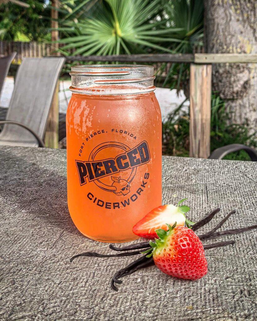 Pierced Cider Glass