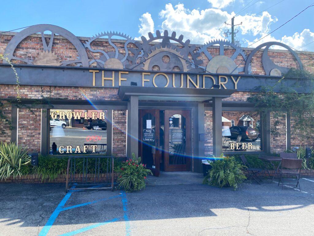 The Foundry Growler Bar in northwest Georgia