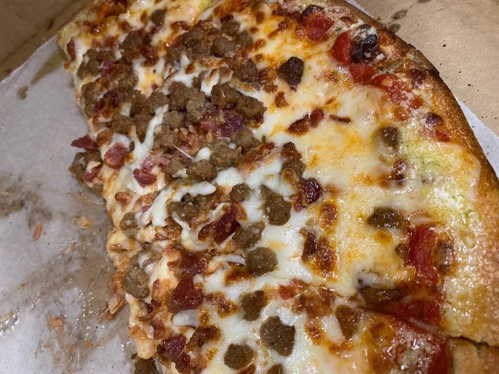 Trackside Pizza in northwest Georgia