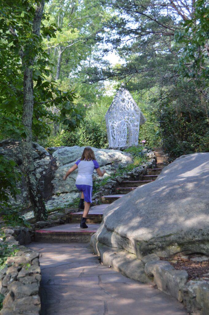 Walking Path in See Rock City in northwest Georgia