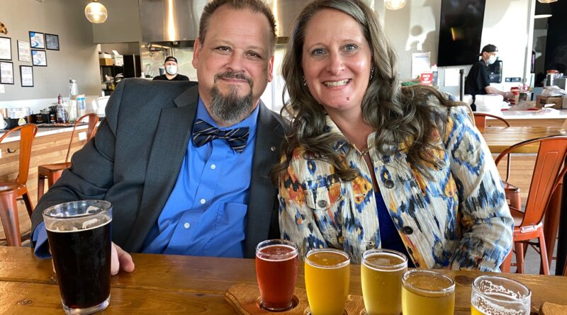 Couple at Orange County Brewers Florida