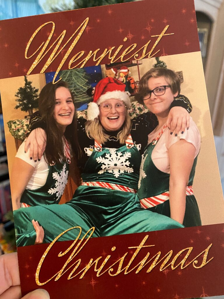 Front of Forever Christmas card