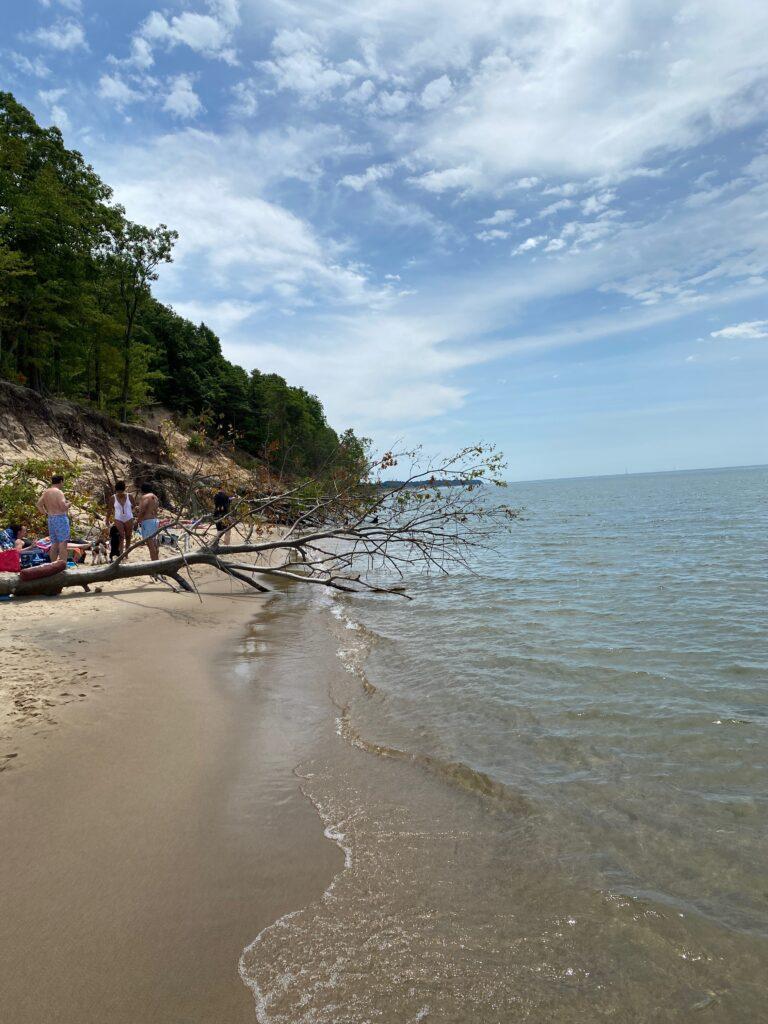 Saugatuck Dunes on Lake Michigan
