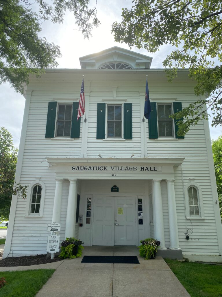 Saugatuck Michigan Village Hall