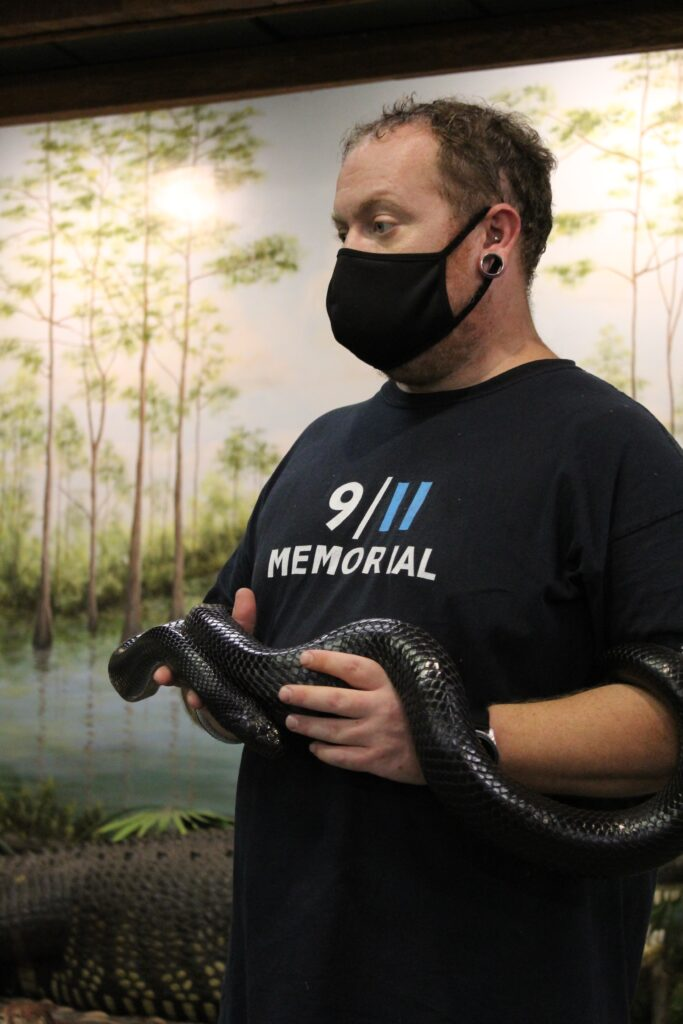 Calusa Nature Center Snake Talk
