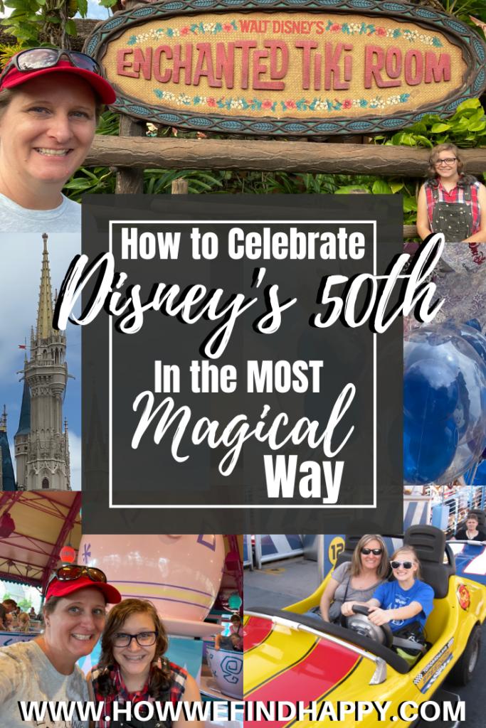 How to Celebrate Walt Disney World's 50th