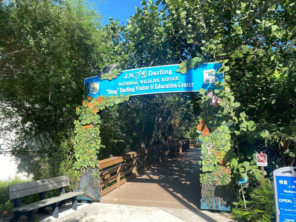 JN Ding Darling Visitor Center Entrance
