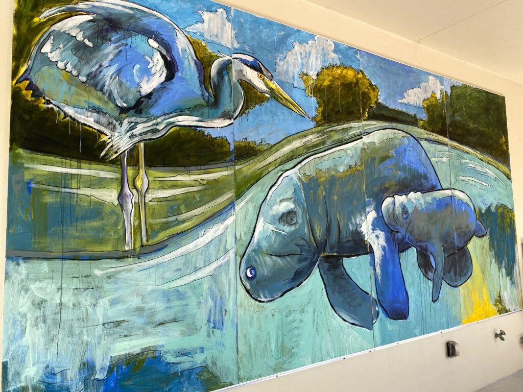 JN Ding Darling Visitor Center Wall Art
