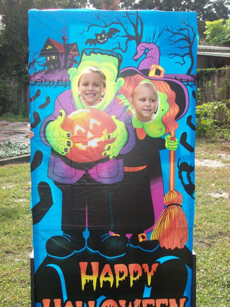 Picture fun at Santa's Farm