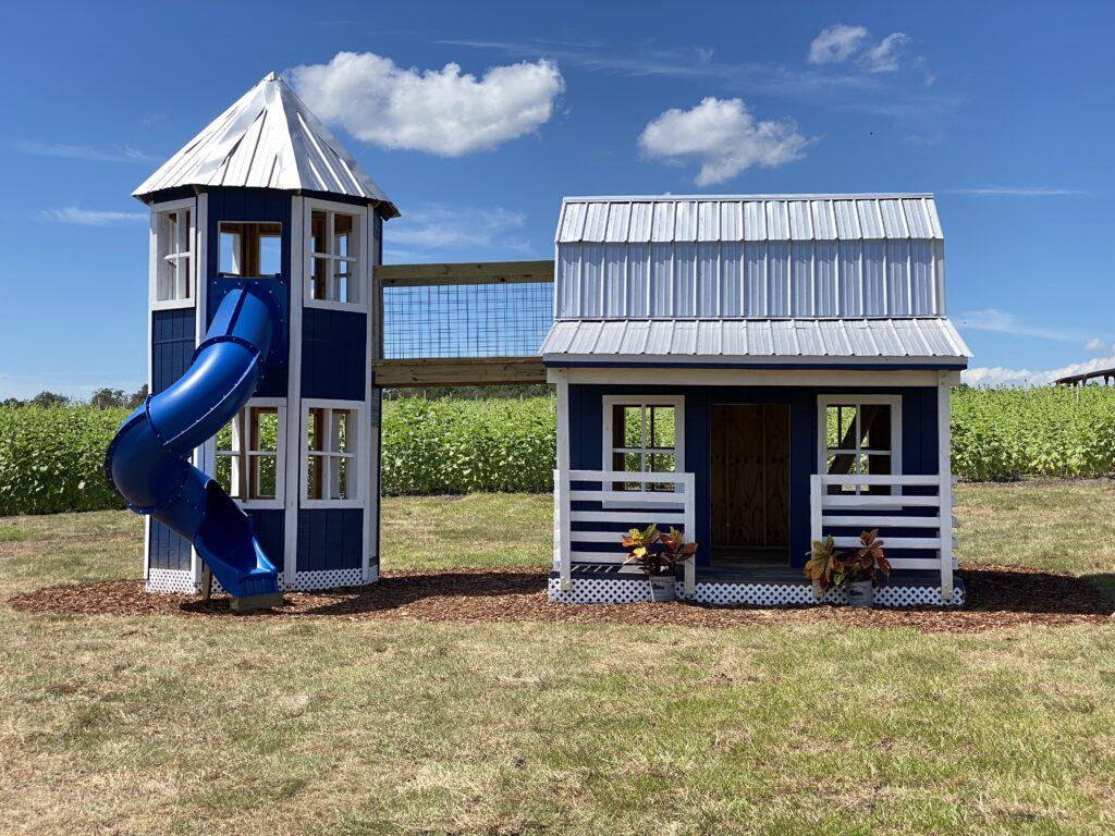 Playhouse at Atwood Farms fall family fun in lake county florida